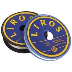 Gewachstes Polyesterweiß-Schlaggarn 1,5mm 20mt