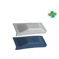 Schutzgitter für Stegseiten und Boote blau 250 x 60 mm