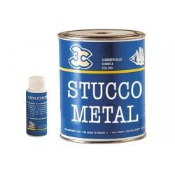 Polyester- und Metallspachtel 125 ml grau