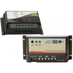 Laderegler für Solarmodule 120/240wat 2 Batterien