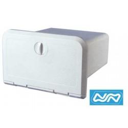 Wasserdichtes Tor mit UKW-Box und Radio
