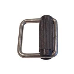 Inox-Schnalle aus Edelstahl 40x48mm