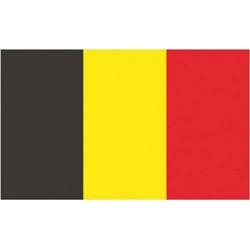 Flagge Belgien 100% Polyester 30 x 45 cm