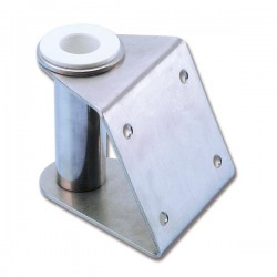 Edelstahlbügel mit Nylonbuchsenloch 25 ø mm
